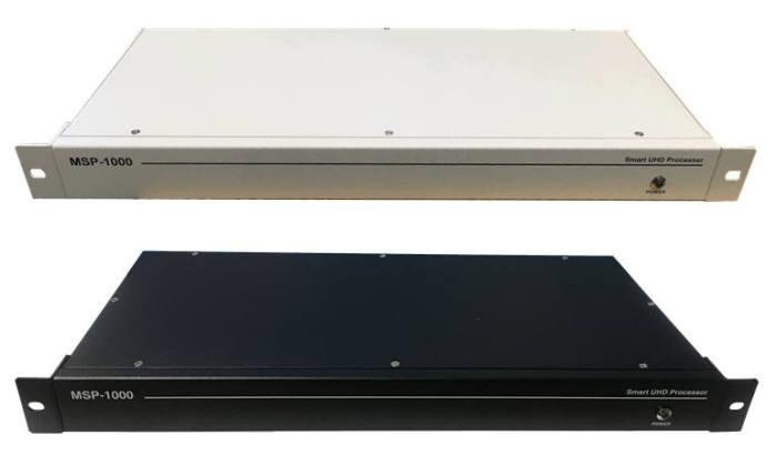 UHD코리아가 개발한 700MHz 대역형 신호처리기(모델명 MSP-1000)
