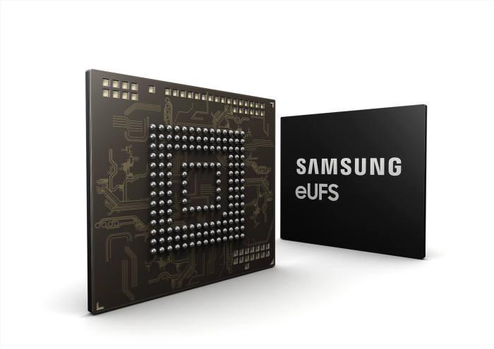 삼성전자 256GB 차량용 eUFS.
