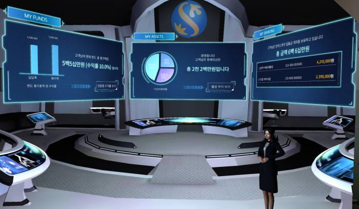 VR 웰스라운지 화면