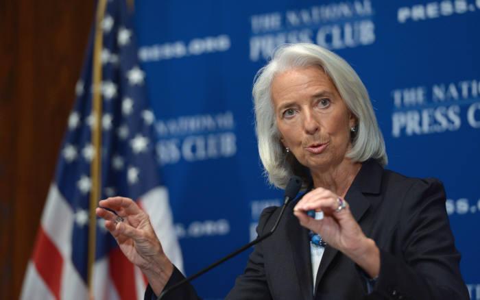 크리스틴 라가르드 국제통화기금(IMF) 총재