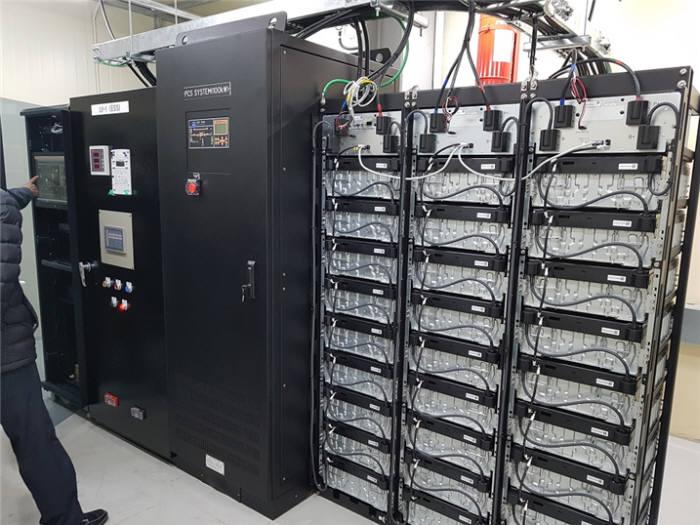 국가산단 입주기업에 설치한 ESS 설비