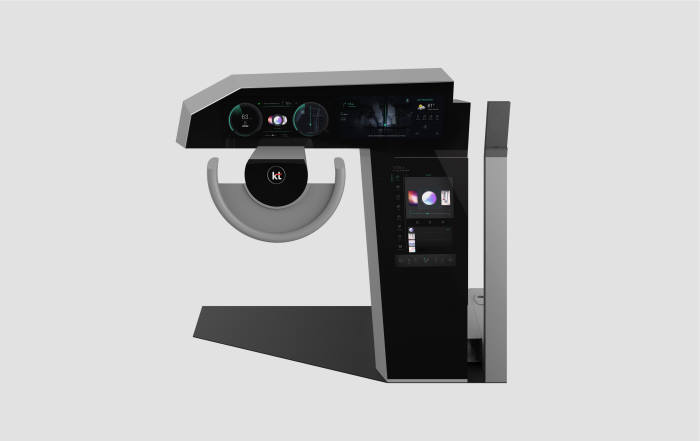 KT 차세대 차량용 인포테인먼트 시스템(IVI) 컨셉 제품