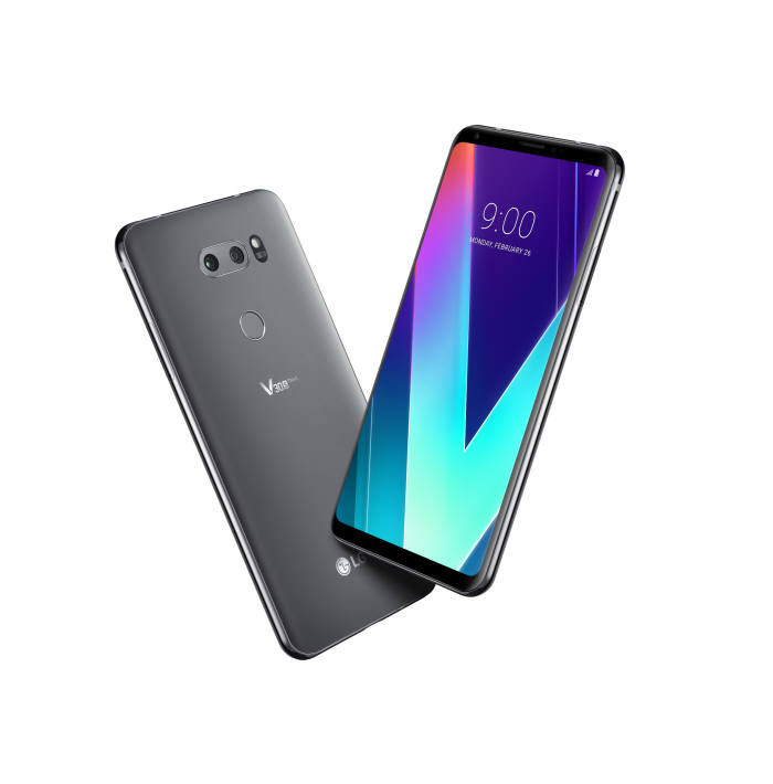 [MWC 2018]LG전자, AI 브랜드 '씽큐' 첫 적용 'LG V30S ThinQ' 공개