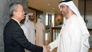 백운규 산업부 장관, UAE 아부다비석유공사와 협력 논의