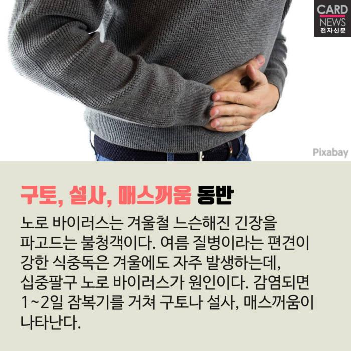 [카드뉴스]겨울식중독 NO로 바이러스