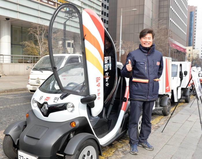[기자의 일상] 집배원 업무환경 개선에 전기차와 전기이륜차가 함께합니다.