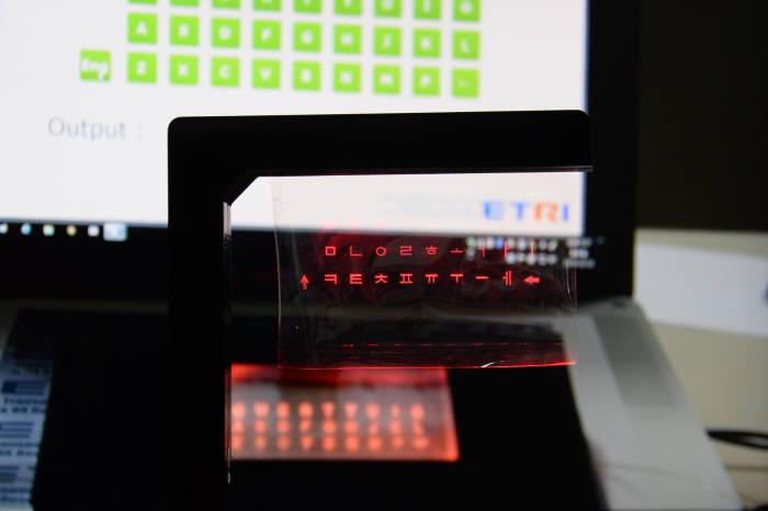 ETRI가 개발한 시·촉각 인터페이스 기술