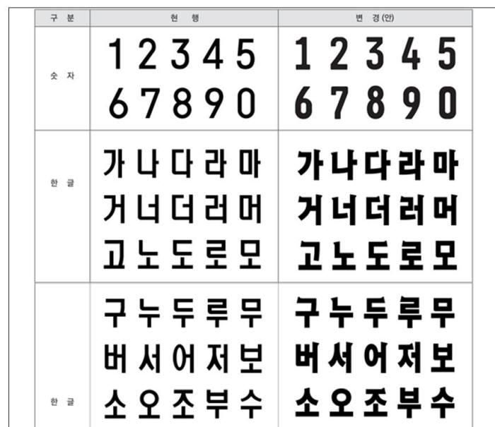 """새 자동차 번호판, 국민의견 모은다...""""숫자 추가냐? 받침 추가냐?"""""""