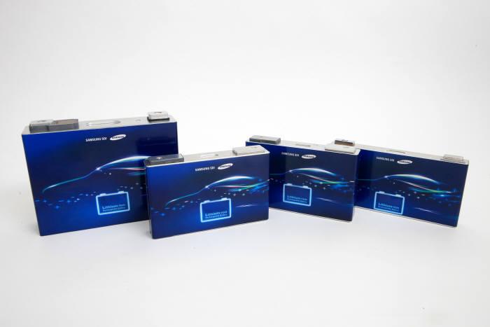 삼성SDI 전기차용 배터리.
