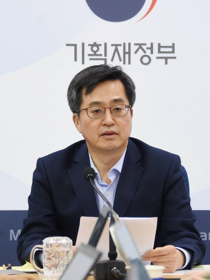 김동연 경제부총리 겸 기획재정부 장관.