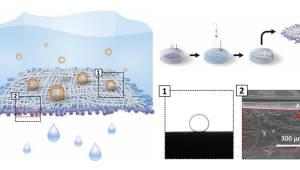 포스텍, 1초 만에 기름만 걷어내는 첨단 방제막 개발