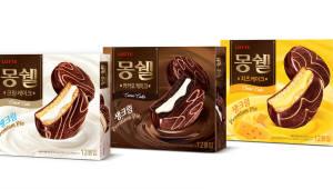 롯데제과, 생크림 파이 '몽쉘 치즈케이크' 출시