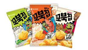 오리온 '꼬북칩', 출시 1년 만에 3000만 봉 판매 돌파