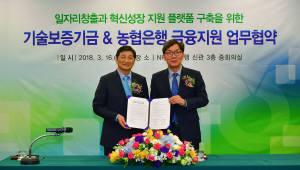 기보-농협은행, 일자리창출·혁신성장 지원 협약