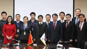 한국화학융합시험연구원 중국 ZJCDC와 MOU