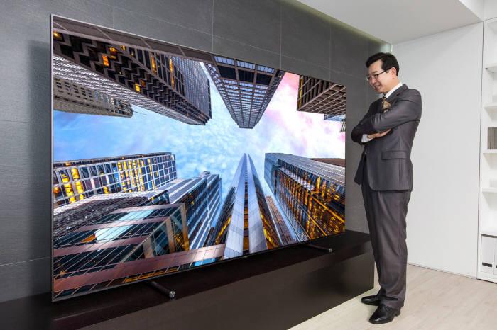 삼성전자 88형 QLED TV