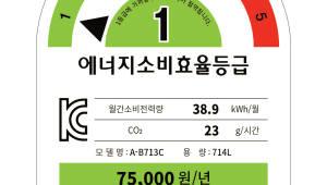 냉장고·전기밥솥, 에너지효율등급 상향