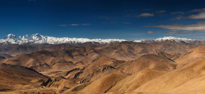 중국이 인공강우시설을 구축하려는 티베트고원 지대(게티이미지뱅크)