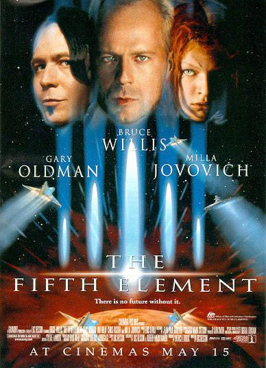 '제5원소' 영화 포스터.