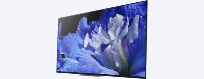 소니의 OLED TV 'A8F' (사진=소니)
