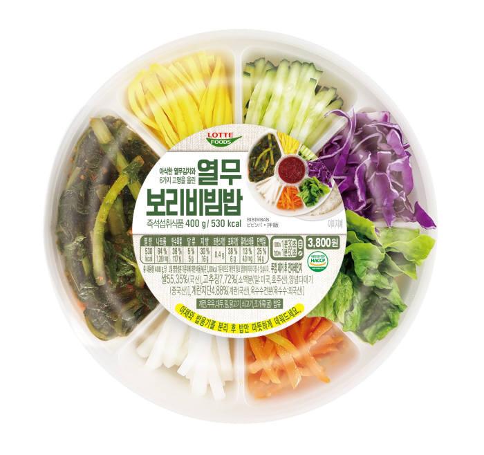 세븐일레븐, 이른 더위에 여름 시즌 메뉴 '열무보리비빔밥' 출시