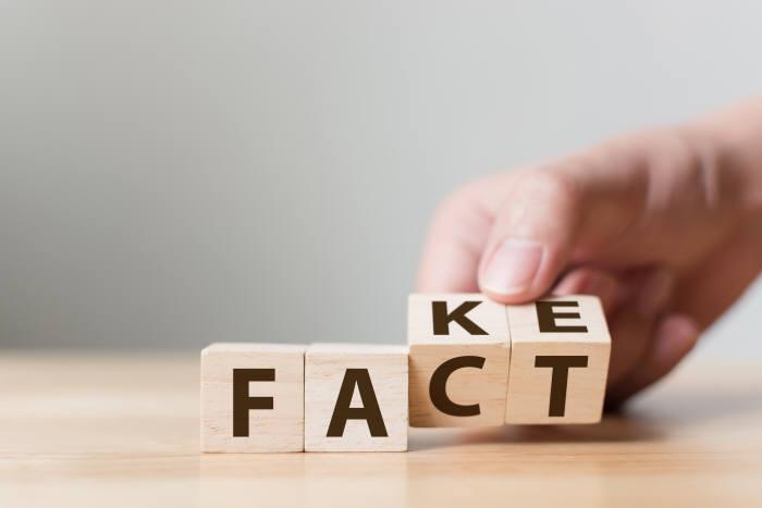 사진 1. 우리가 바라 듯이 진실이 거짓보다 반드시 힘이 센 것은 아니었다. 때로 거짓은 진실보다 더 널리, 많이 퍼진다. (출처: shutterstock)