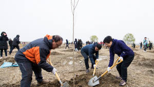 중부발전, 한강에 탄소상쇄숲 조성