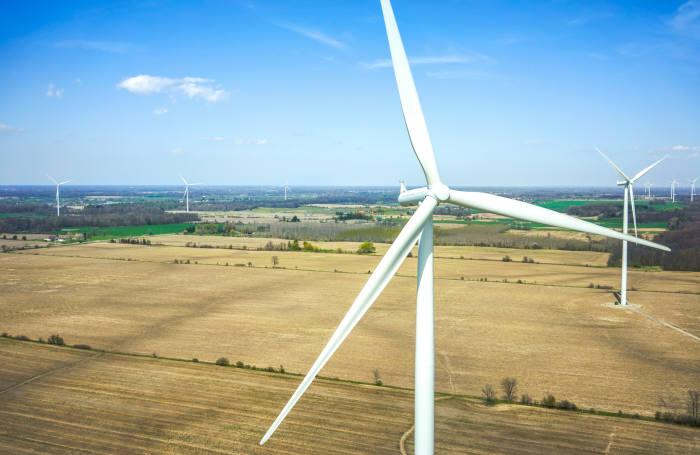 삼성물산 온타리오 신재생에너지 발전단지. [자료:삼성물산]