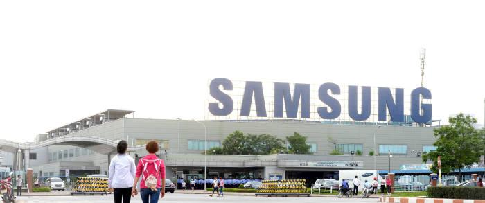 삼성전자 스마트폰 생산기지인 베트남 법인 전경(자료=전자신문DB)
