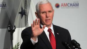 """펜스 미국 부통령, """"NAFTA 개정 협상 타결될 것"""""""