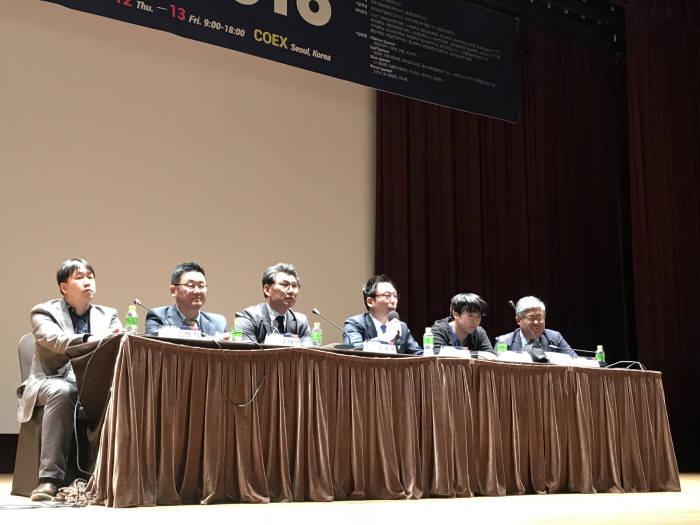 한국정보보호학회와 한국인터넷진흥원은 13일 코엑스에서 NetSek-KR을 열고 '4차 산업혁명 시대의 암호화폐 정책방향'에 대해 토론했다.