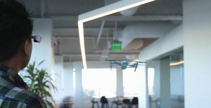 엡손, DJI 드론 홀로그램 띄우는 '엡손 AR 비행 시뮬레이터' 앱 개발