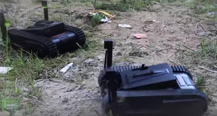 이스라엘 소형 킬러 로봇 도고<유튜브 캡처>