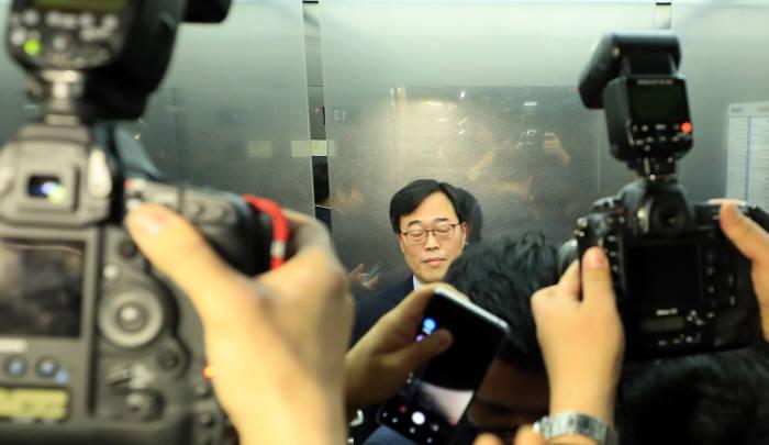 선관위, '5000만원 후원 의혹' 위법소지 판단
