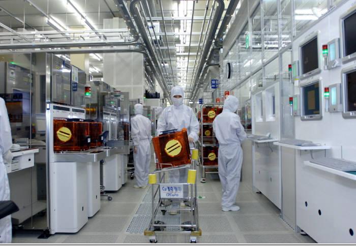 삼성전자 반도체 공장.