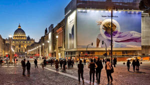 로마·파리에 등장한 '갤럭시S9' 옥외광고