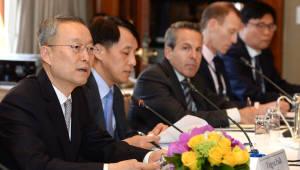백운규 산업부 장관, 미국서 투자설명회 개최...4억달러 규모 투자 유치