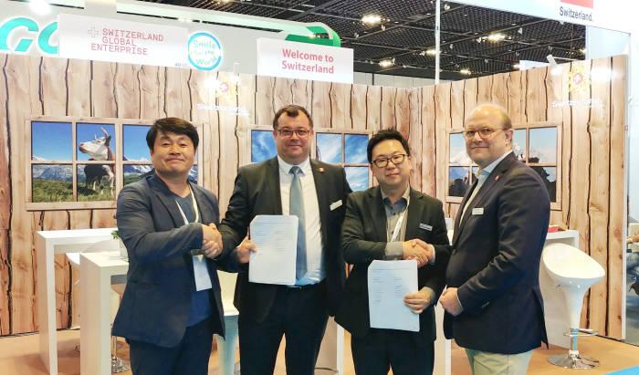 플라즈맵은 지난 13일부터 15일까지 싱가포르에서 열린 IDEM전시회에 참가해 의료기기 전문 유통기업인 H사와 멸균기 제품 수출을 위한 계약을 맺었다