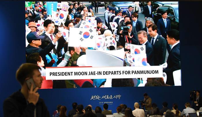 [2018 남북정상회담]문재인 대통령, 2018남북정상회담' 참석 위해 청와대 출발