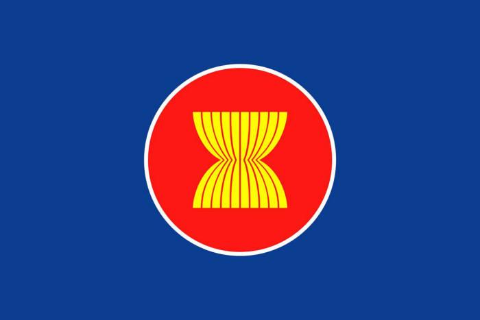 아세안 로고는 안정, 평화, 화합, 역동성을 상징한다.