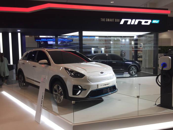 기아자동차 소형 SUV 전기차 '니로EV'