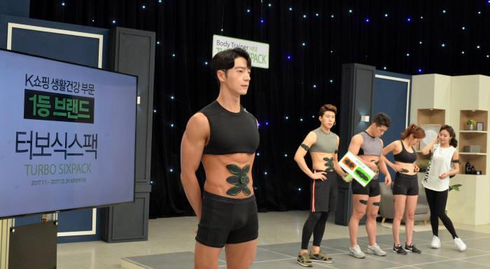 KTH T커머스 'K쇼핑' 상품 녹화 장면 자료:전자신문DB