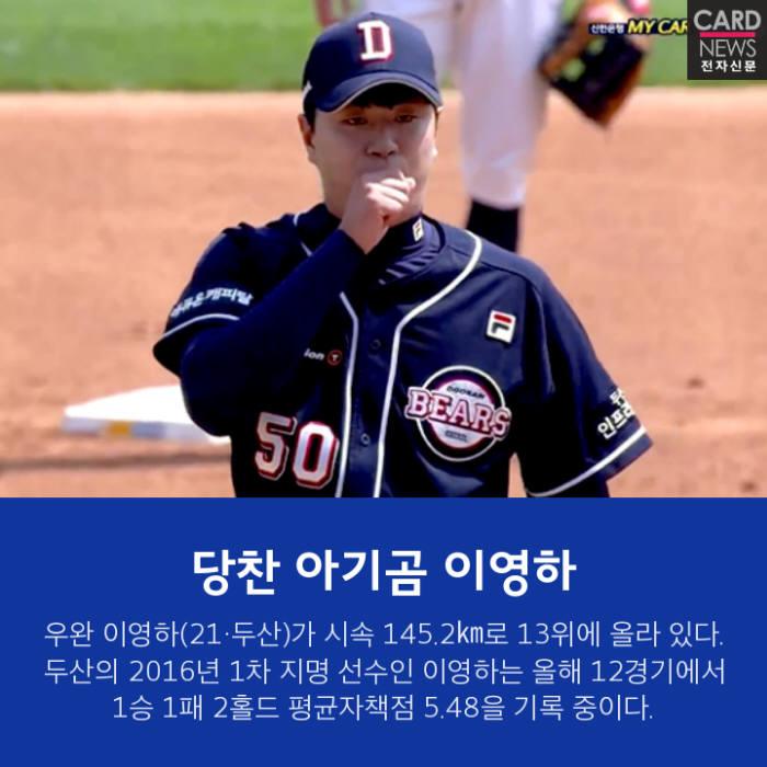[카드뉴스]'강속구 영건' 무르익는 에이스 꿈