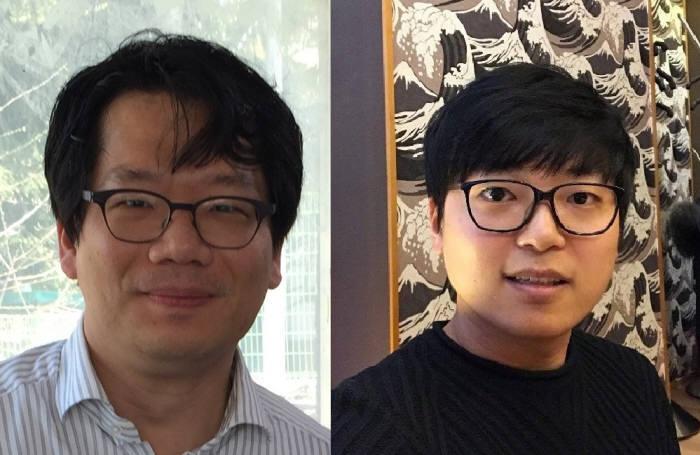 김준모 KAIST 전기 및 전자공학부 교수(사진 왼쪽), 임준호 박사과정(오른쪽)