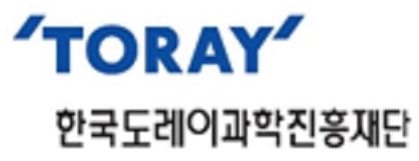 한국도레이과학진흥재단 로고