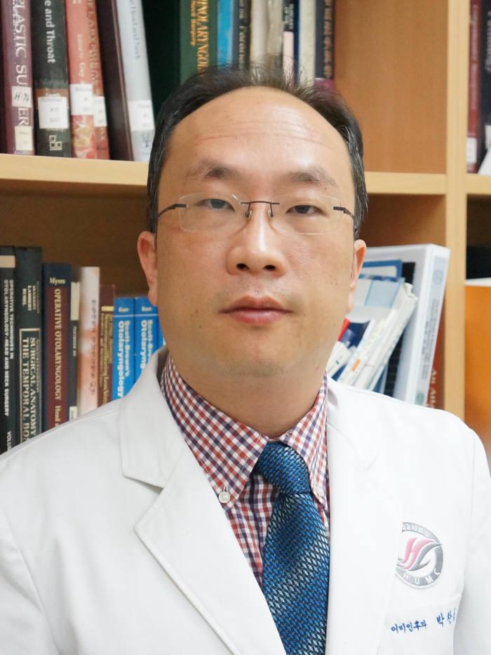 박찬흠 한림대춘천성심병원 이비인후과 교수