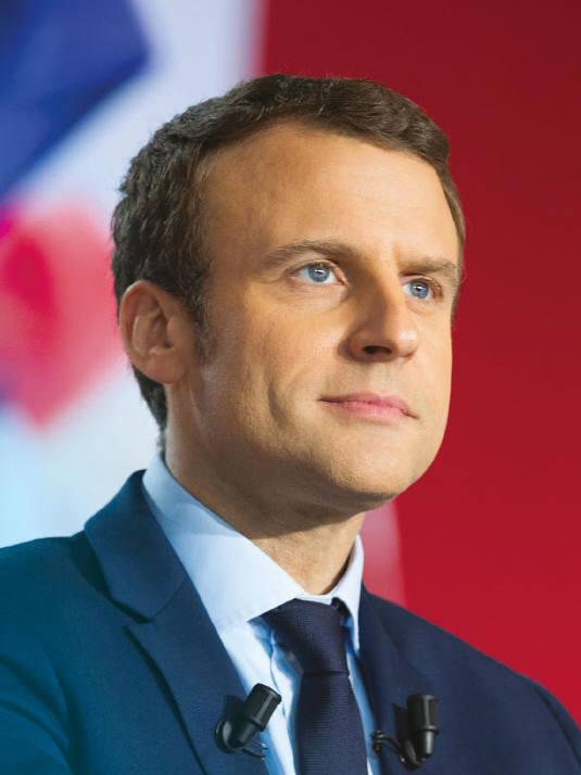 마크롱 프랑스 대통령 (자료:Emmanuel Macron facebook)