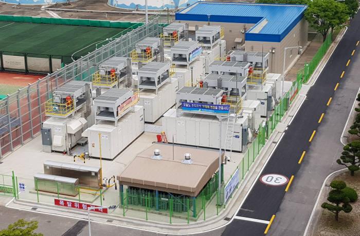 일산 연료전지 4단계 전경.