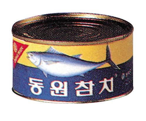 1981년 출시 당시 동원참치 제품. 사진=동원그룹 제공