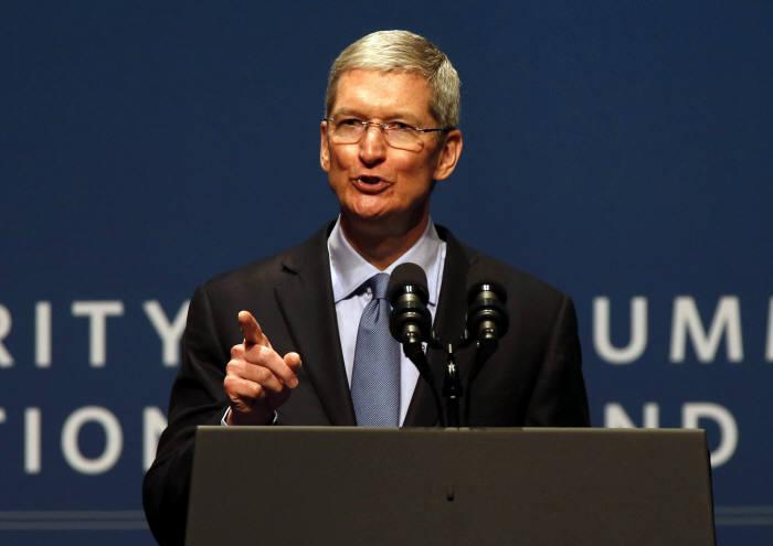 팀쿡 애플 최고경영자(CEO)
